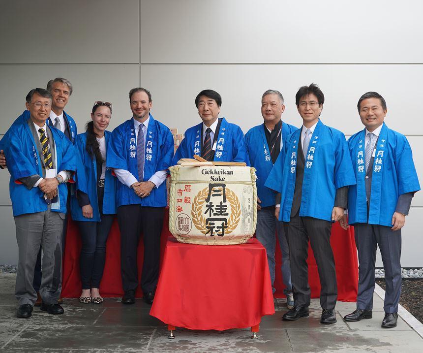 traditional sake seremony