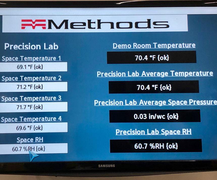 environment control variables inside the Precision Center