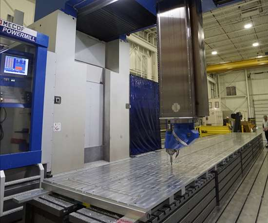 PowerMill five axis machining center