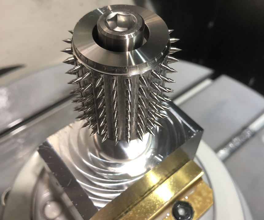 machined surgical tool