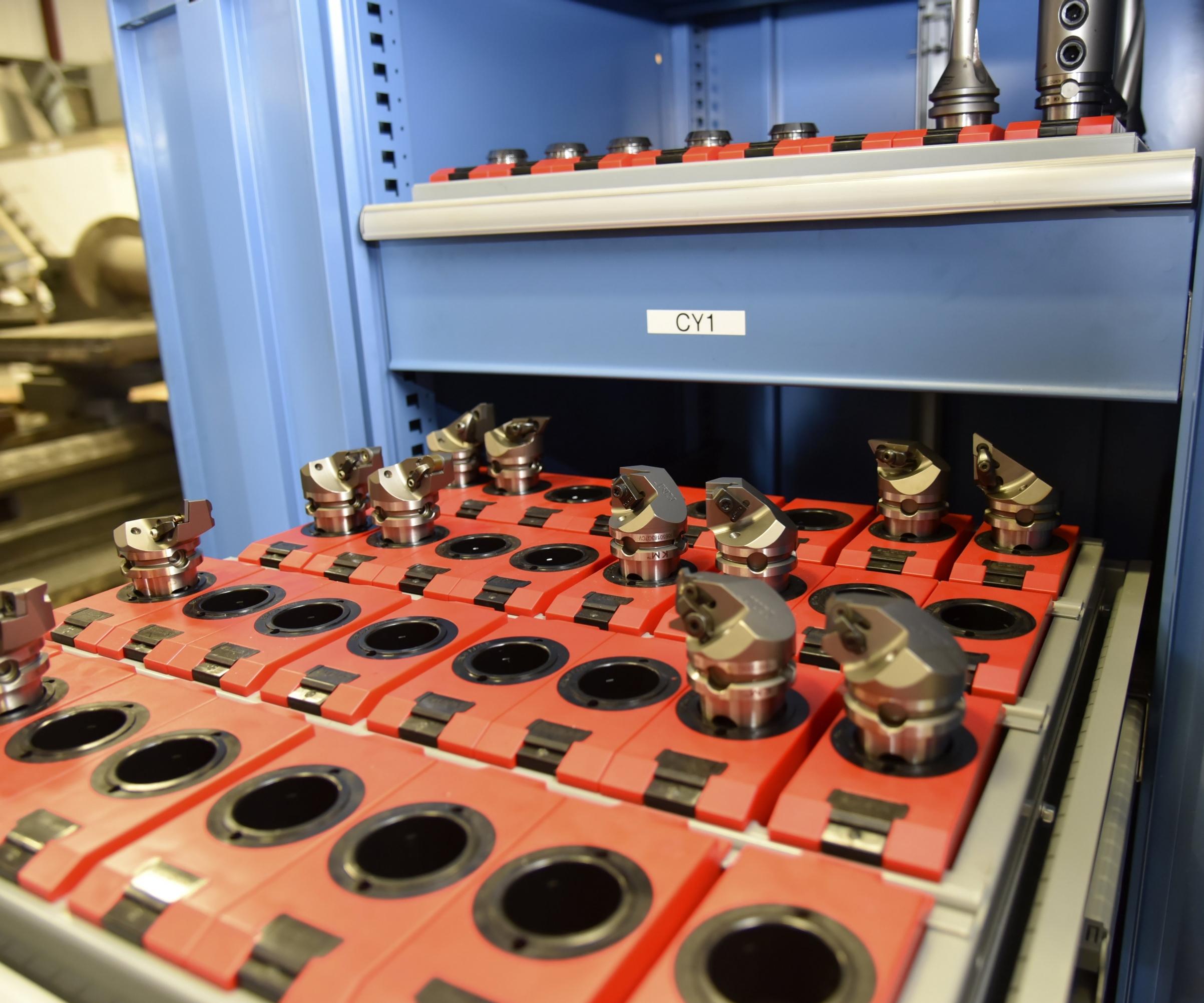 Anthony Machine ha estado utilizando el portaherramientas de cambio rápido KM de Kennametal en todo el taller durante años.
