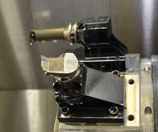 close up of tool