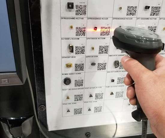 scanning gun