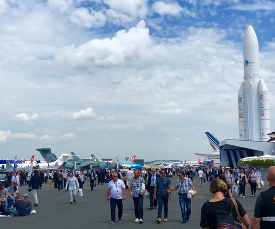 A Dramatic Debut and Key Collaborations at the Paris Air Show