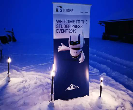 Studer Press Event 2019 in Arosa