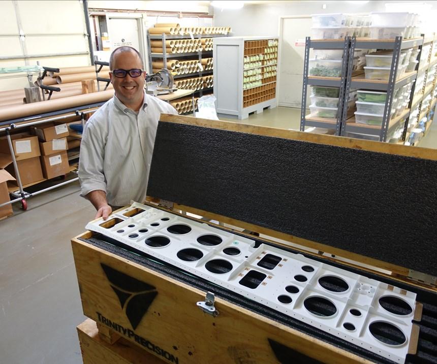 Trinity Precision founder David May