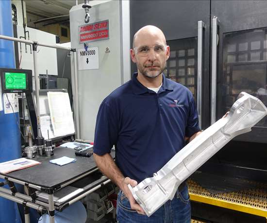 Trinity Precision's Chris VanNover, Trinity's vice president of operations