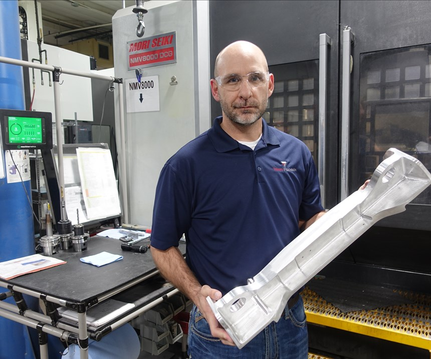 Trinity Precision's Chris VanNover, Trinity's vice president of operations