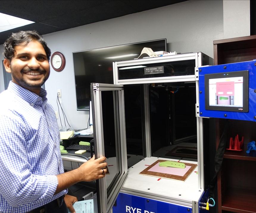 Trinity Precision automation engineer Joel Koripalli