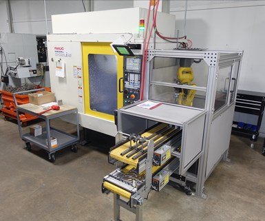 FANUC Robodrill vertical machining center