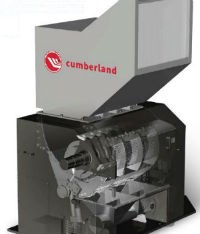 Image of efficient cumberland T50 series granulator with tangiential see-through chamber