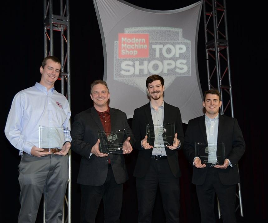 Top Shops winners
