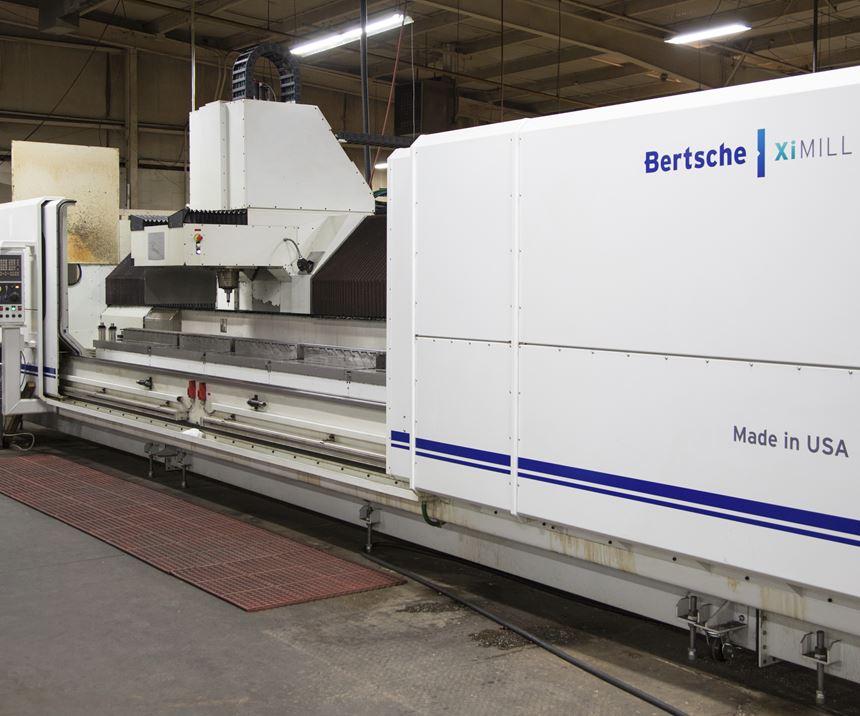 Bertsche XiMill machining center