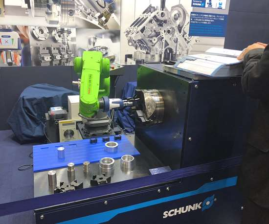 schunk co-act gripper jimtof