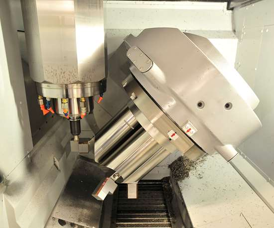 powill manufacturing five axis