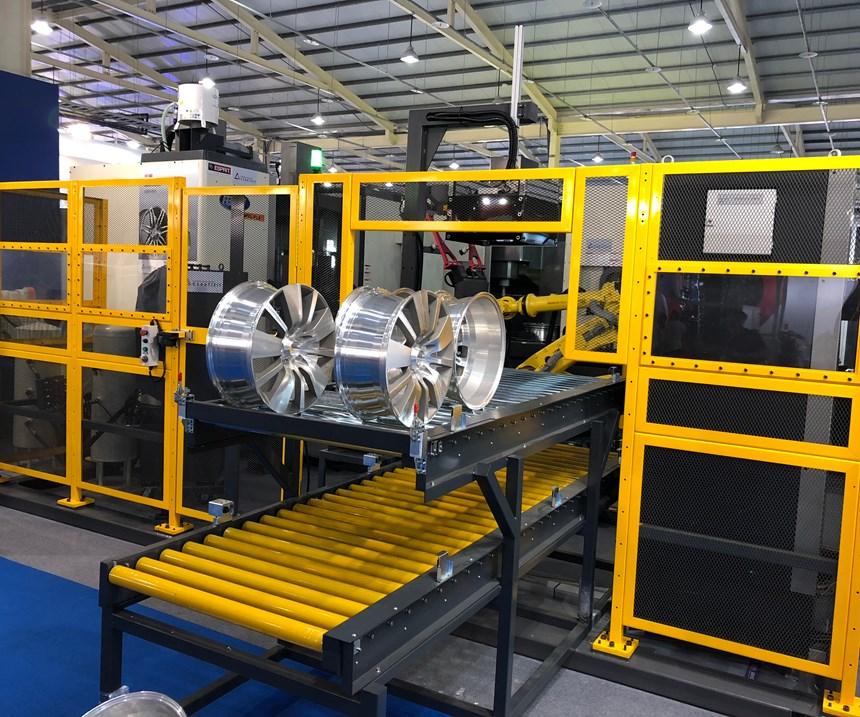 femco wheel machining cell