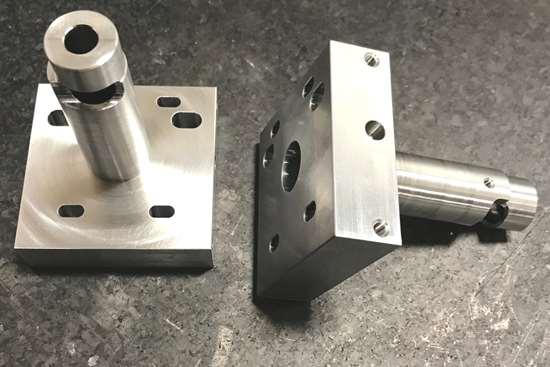 laser lens mount piece