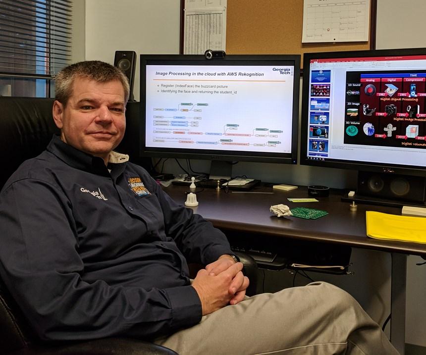 Tom Kurfess of Georgia Tech discussing the Internet of Things