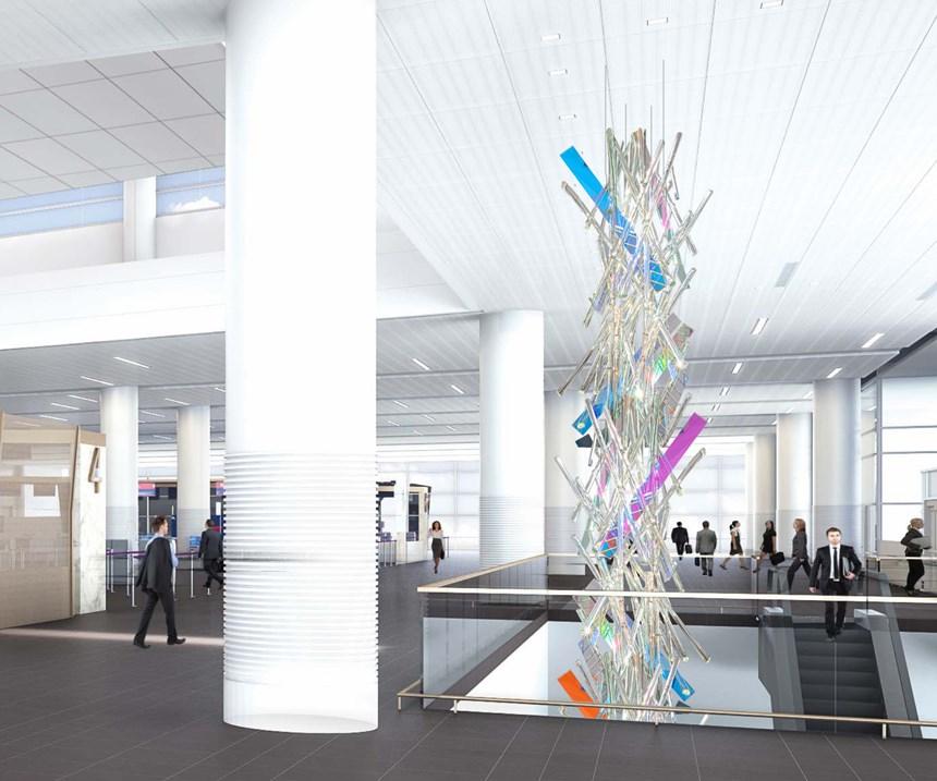 Salt Lake City International Airport Sculpture
