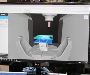 Mecanizado en vivo presenta el concepto del gemelo digital en acción
