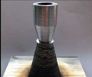 additively produced nozzle