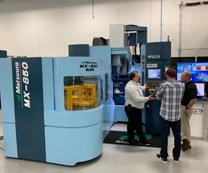 Matsuura five-axis pallet-fed MX-850 machining center
