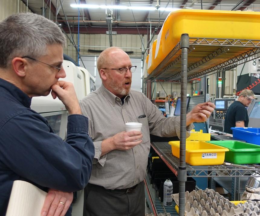 Precision Tool Technologies president Jim Goerges