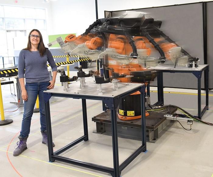 Veo Robotics collaborative robot technology in action
