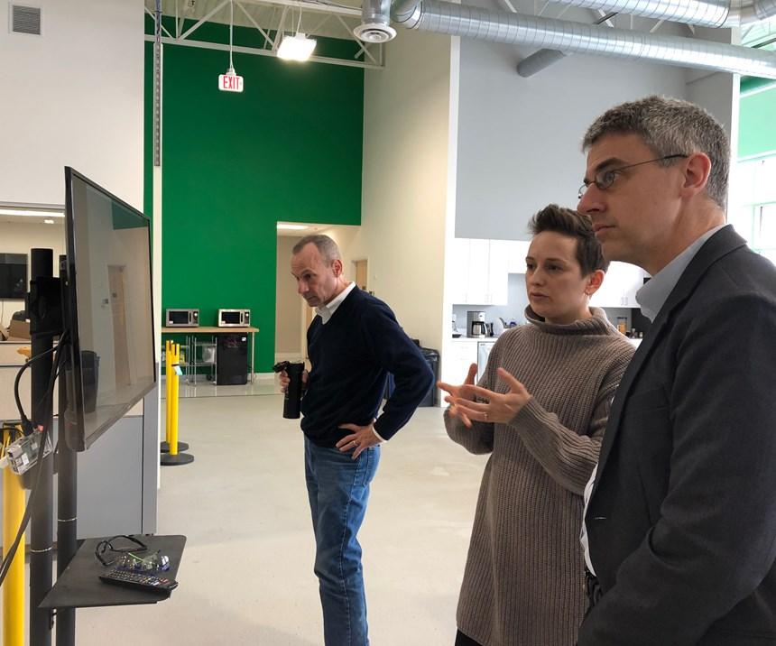Patrick Sobalvarro and Clara Vu of Veo Robotics speak with Peter Zelinski of Modern Machine Shop