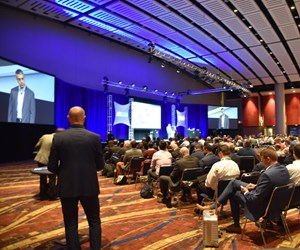 A scene from last year's Additive Manufacturing Conference