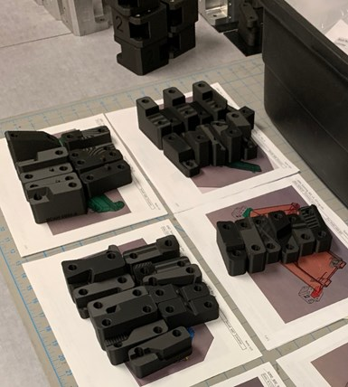 3d printed inspection fixtures and blocks