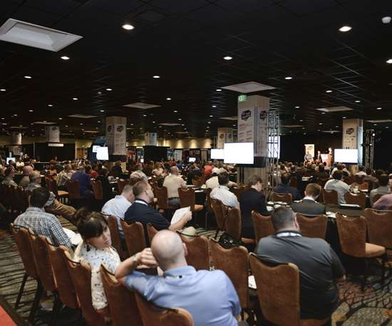 Top shops conference audience