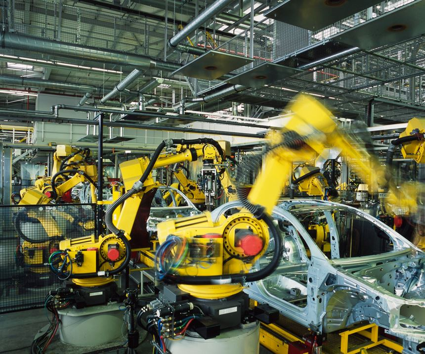 robotic automation in automotive application