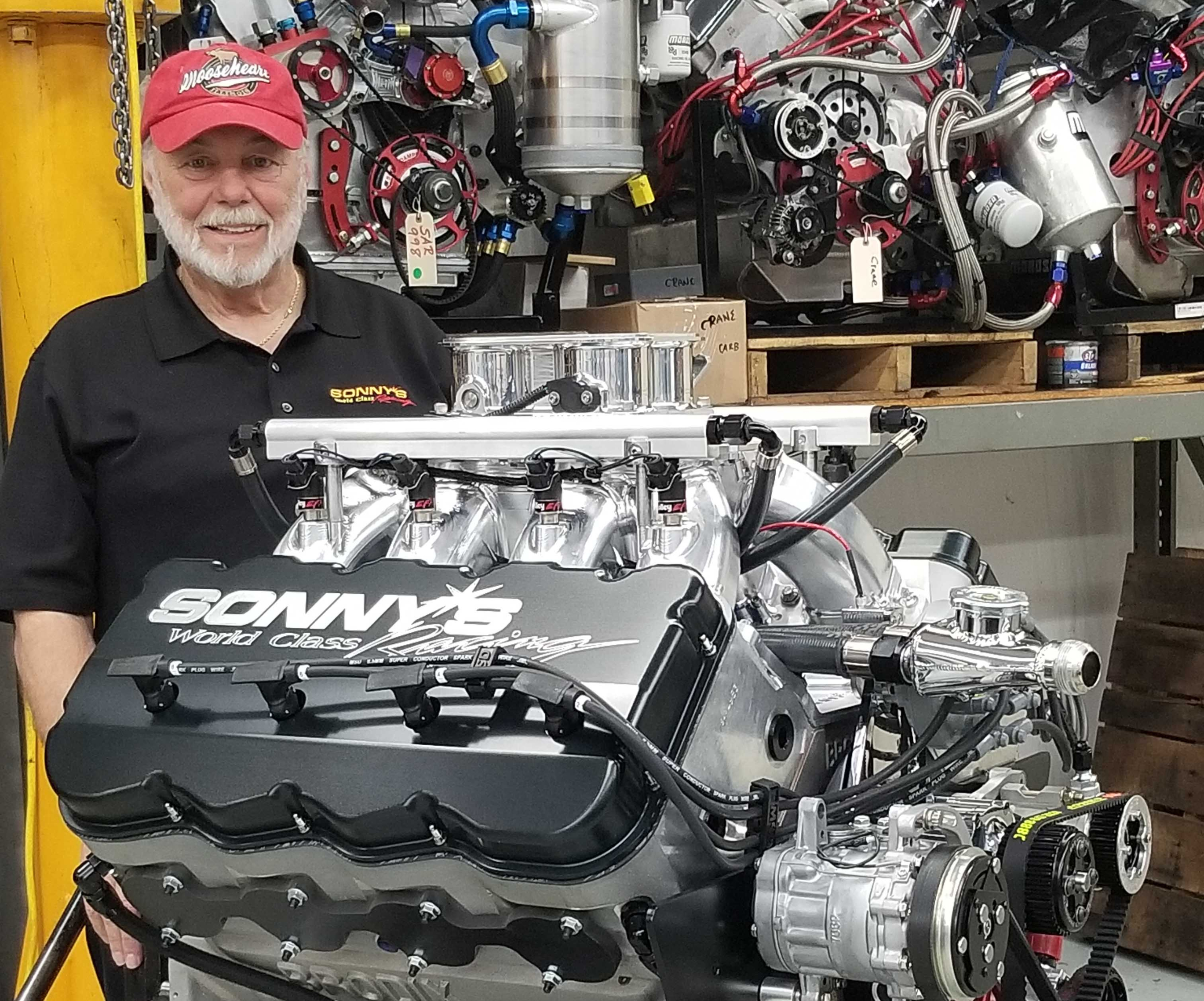 Sunnen Engine Charity Sweepstakes, Sonny's Automotive Racing