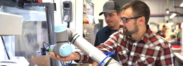teaching the robot