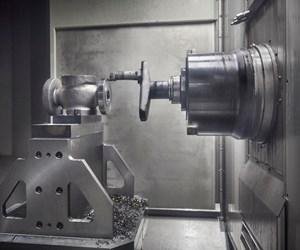 Multitasking Machining Center Cuts Process Steps as Well as Metal
