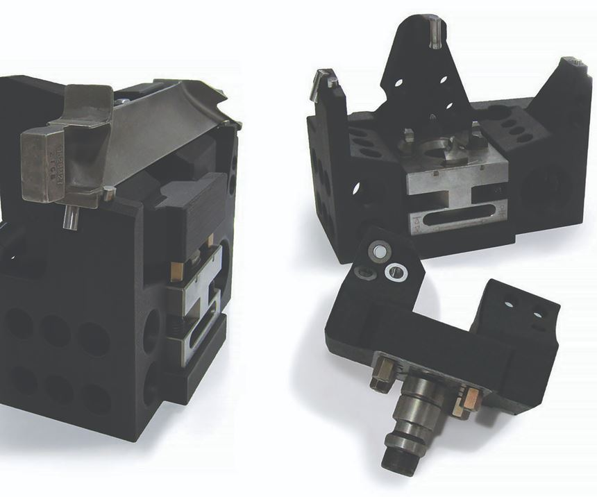 Blue Photon's adhesive workholding system