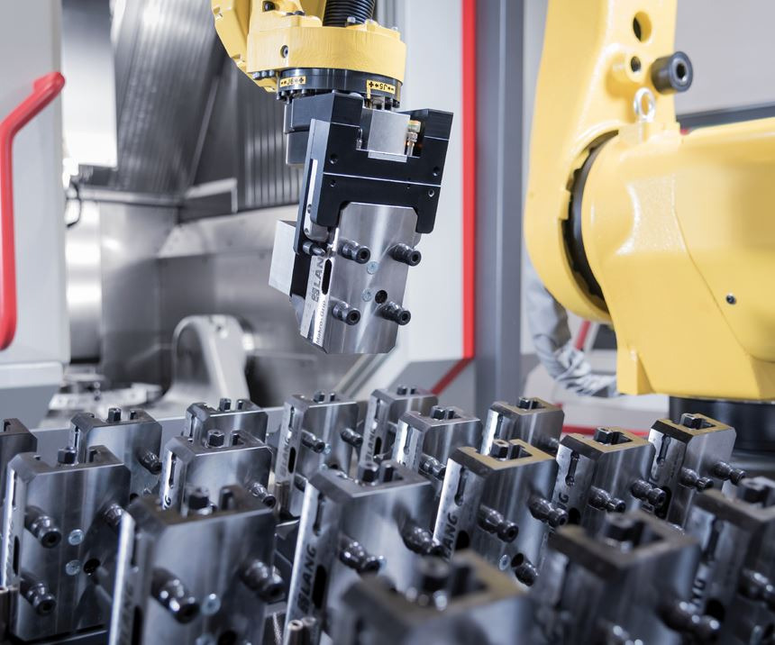 Lang Automation's RoboTrex automation system.