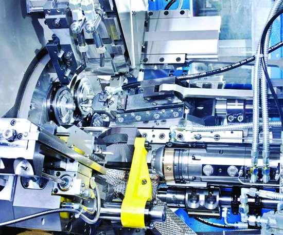 Schütte's PC series multi-spindle automatics.