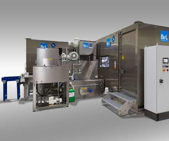 BvL Geyser high-pressure cleaning unit.
