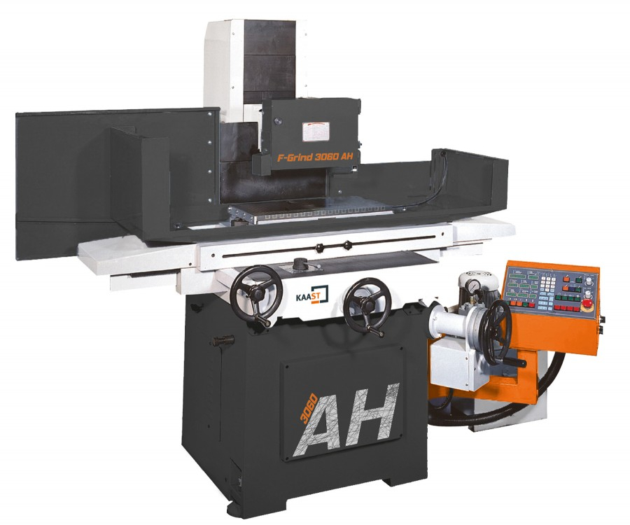 Kaast Machine Tools' F-Grind AH series surface grinder.