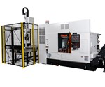 Mazak Offers Quick Turn 200/250 Turning Centers with Gantry Robot