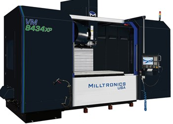 Milltronics Introduces Largest XP-Series VMC