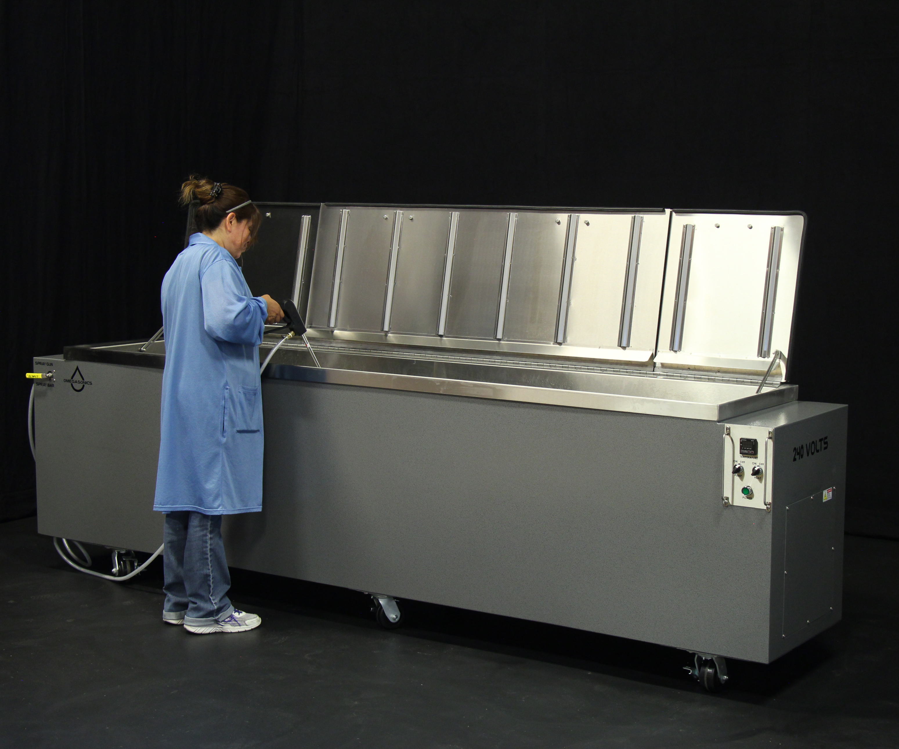 Omegasonics' customizable ultrasonic cleaning systems