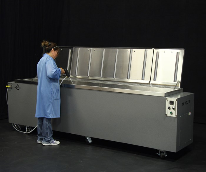 Omegasonics' customizable ultrasonic cleaning systems