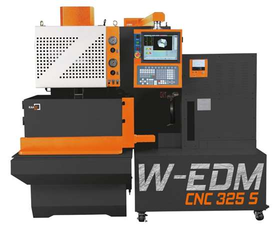 W-EDM S series of CNC wire EDMs from Kaast