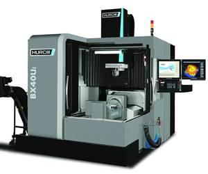 Hurco's BX40Ui Five-Axis Machining Center Features Versatile CNC