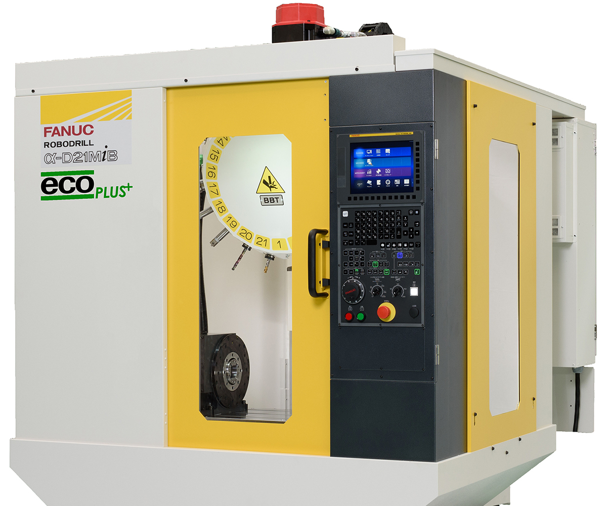 Methods Machine Tools' RoboDrill EcoPlus.