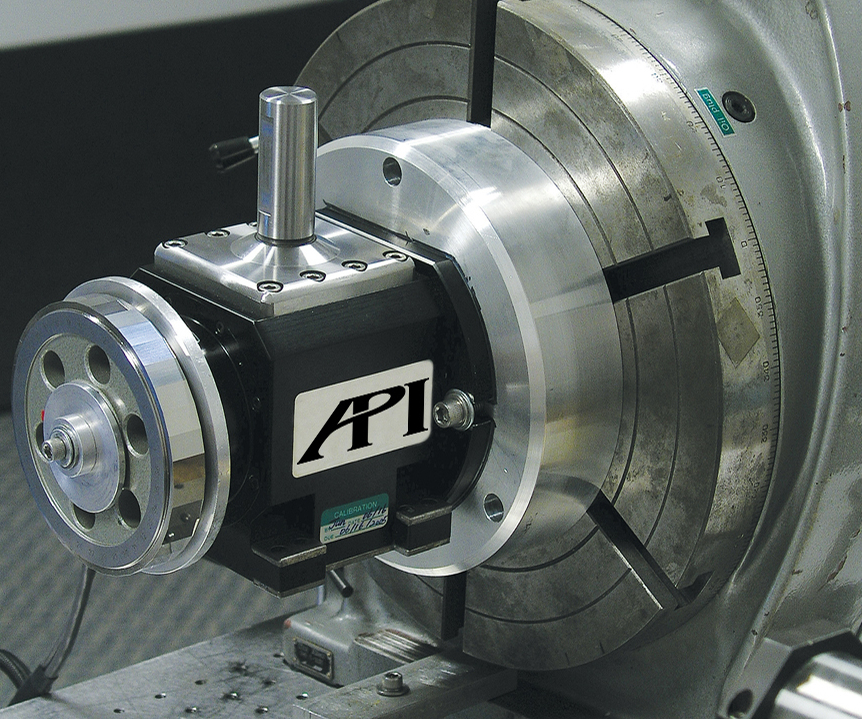 API Swivelcheck measures rotary machine axis locations.