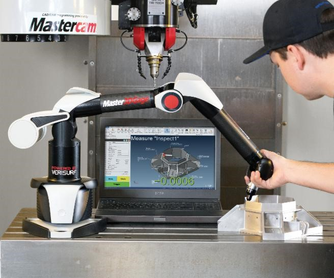 The Master3DGage, powered by Verisurf software